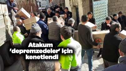 Atakum 'depremzedeler' için seferber oldu