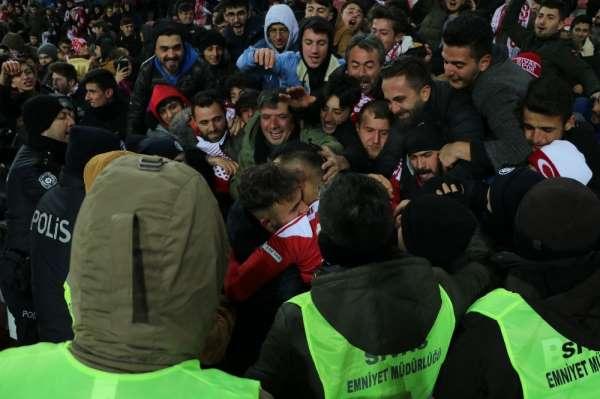 Süper Lig: DG Sivasspor: 1 - Çaykur Rizespor: 1 Maç sonucu