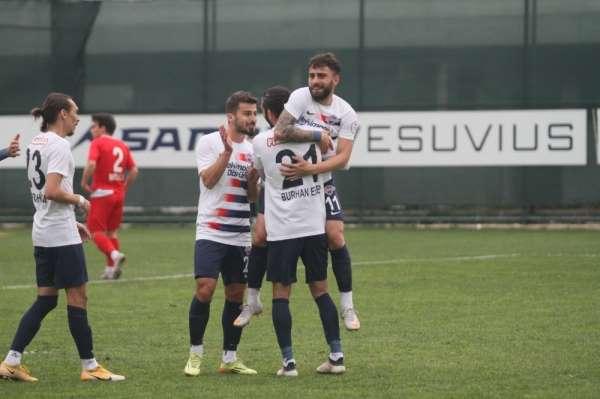 2. Lig: Hekimoğlu Trabzon FK: 7 - Sancaktepe FK:0