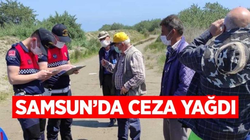Jandarmadan av yasağına uymayan 8 kişiye ceza
