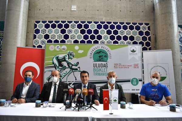 Bisiklet tutkunları Uludağda buluşacak