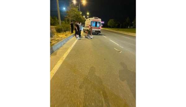 Çevre yolundaki trafik kazasında 1 kişi ağır yaralandı