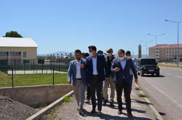 Gençlik ve Spor Bakanlığı heyeti Bulanıkta