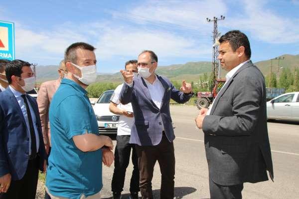 Gençlik ve Spor Bakanlığı heyeti yatırım için Vartoda