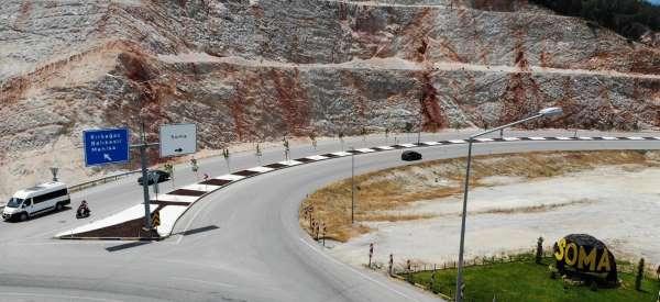 Maden Şehitleri Caddesindeki düzenlemeler tamamlandı