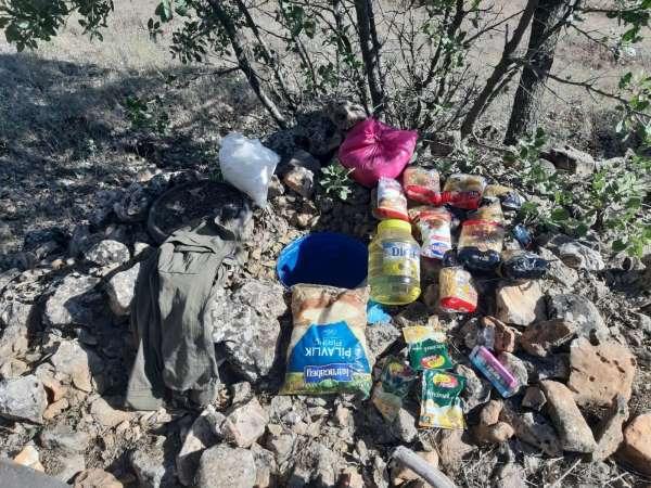 Mardinde MİT ve jandarmadan ortak operasyon: Teröristlere ait sığınaklarda plastik patlayıcı ve EYP düzeneği