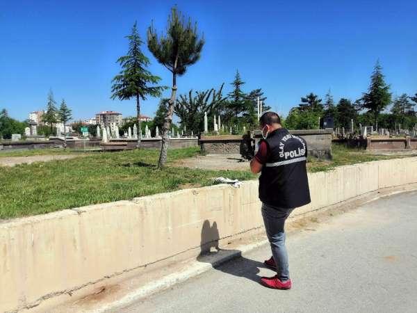 Mezarlıkta intihar girişimi