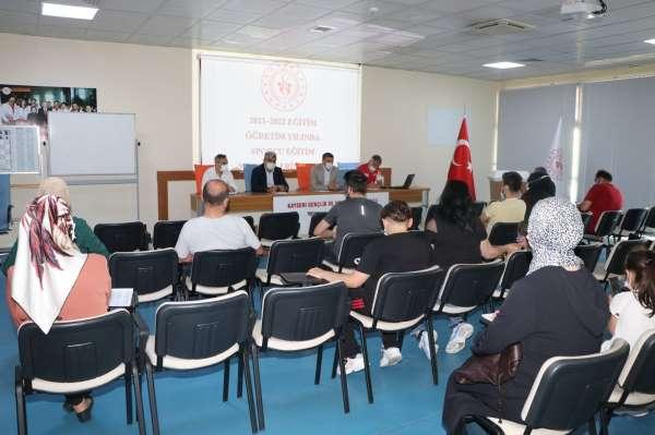 Sportif Yetenek Taraması Değerlendirme ve Branşlara Yönlendirme Toplantısı yapıldı