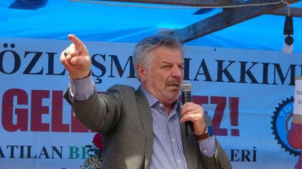 Tek Gıda İş Sendikası Genel Başkanı Mustafa Türkel, Fransız peynir devine Cargilli hatırlattı