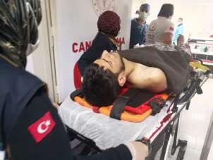 Aksaray'da bıçaklı kavga: 1 ağır yaralı