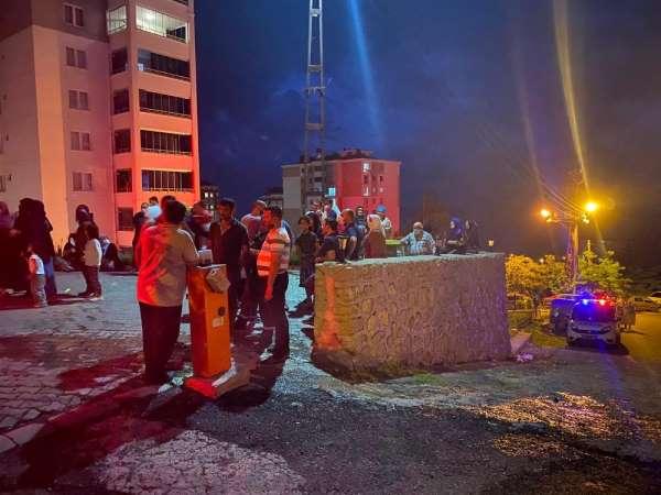 Ordu'da çıkan yangında dumandan 6 kişi etkilendi