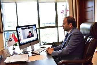 Prof. Dr. Bülent Çakmak, 'Benim Tercihim Çevrimiçi Üniversite Tanıtım Günleri' i