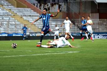 TFF 1. Lig: Adana Demirspor: 2 - Giresunspor: 0 (İlk yarı sonucu)