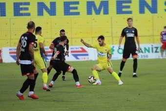 TFF 1. Lig: Menemenspor: 1 - Boluspor: 1