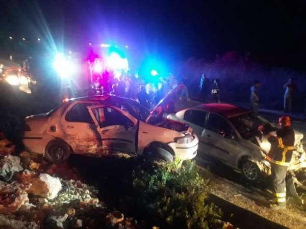 Hatayda trafik kazası: 7 yaralı