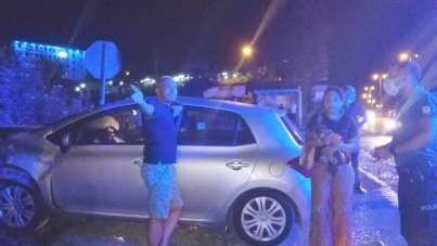 Kazaya sebebiyet veren alkollü sürücüye tepki 'Ölsek ne olacak'