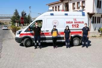 Mobil ambulans uygulaması ile olası kazalara anında müdahale ediliyor