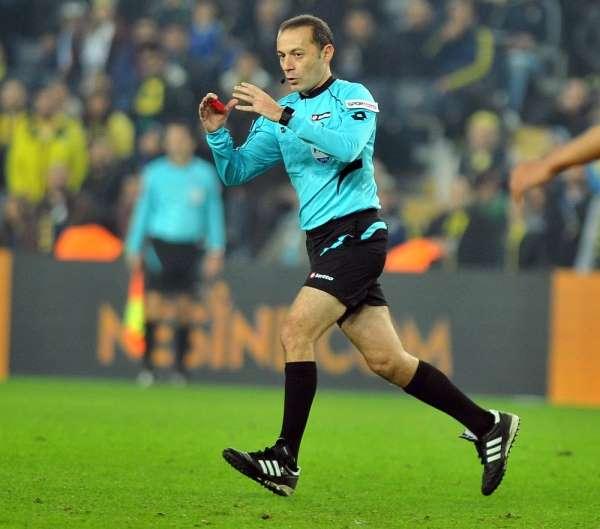 TFF 1. Lig play-off finali Cüneyt Çakır'ın