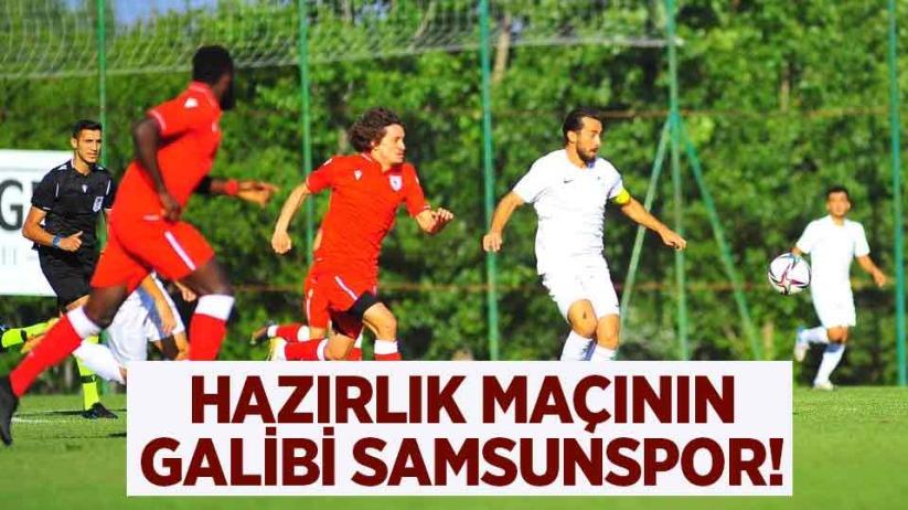 Hazırlık maçının galibi Samsunspor!