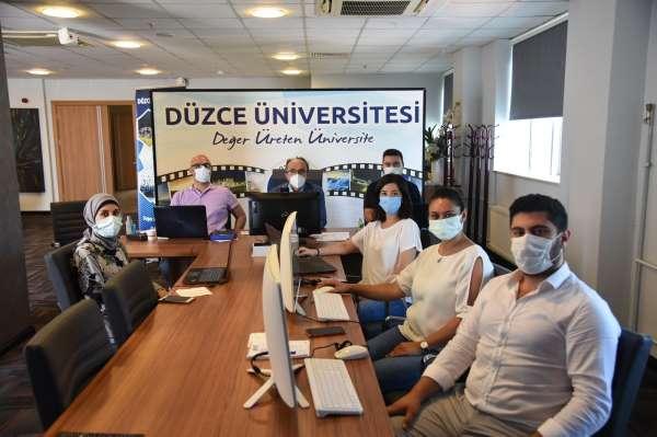 Düzce Üniversitesi Study in Turkey YÖK Sanal Fuarı 2021de yerini aldı