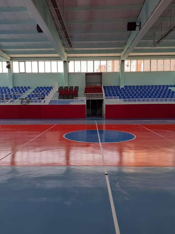 Altıntaş Kapalı Spor Salonu yeni döneme hazır