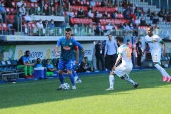 Süper Lig: Çaykur Rizespor: 0 - Aytemiz Alanyaspor: 0 (İlk yarı)