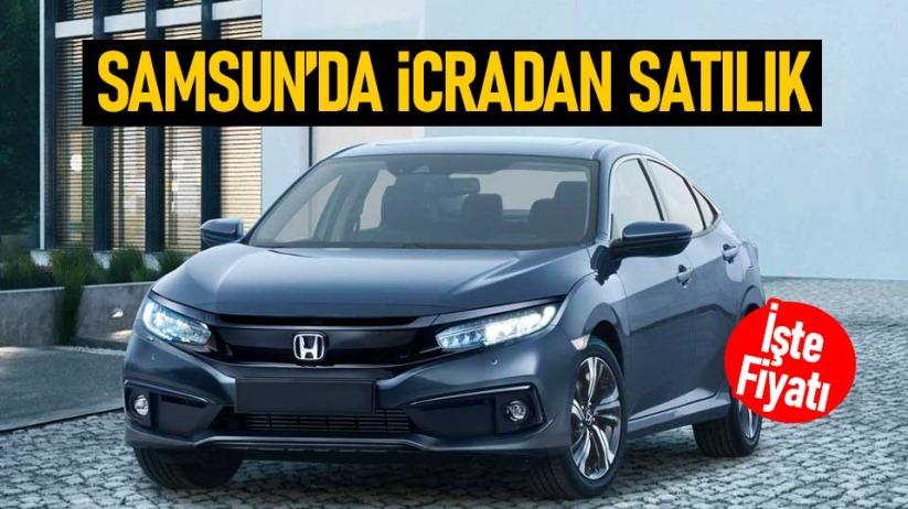 Samsun'da Honda icradan satılık