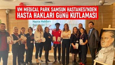 VM Medical Park Samsun Hastanesi'nden Hasta Hakları Günü Kutlaması
