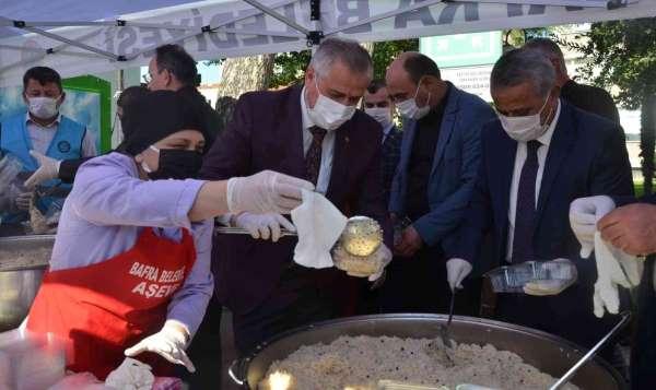 Bafrada Tohumdan Pilava pilav günü etkinliği