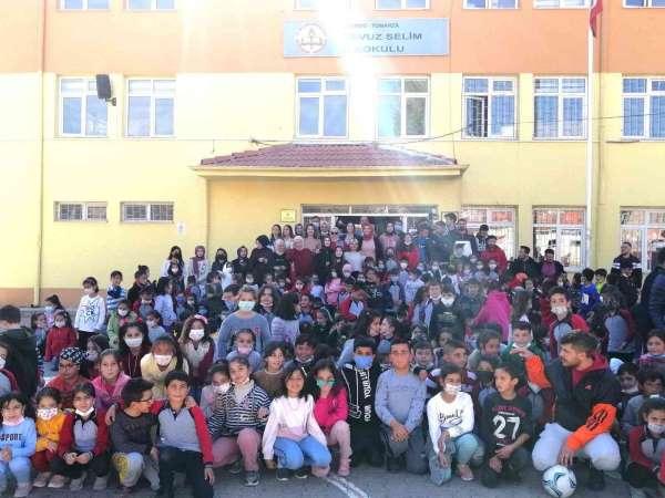 ERÜ Spor Bilimleri Fakültesinden Tomarzada Sporla Tanışan Minik Yürekler etkinliği