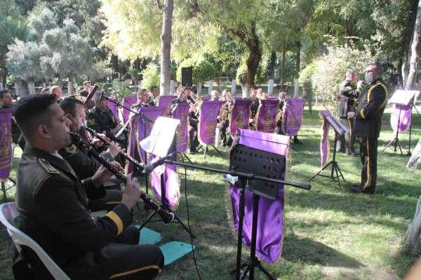 Hatayda 6. Kolordu Komutanlığı Bölge Bando Komutanlığı konser verdi