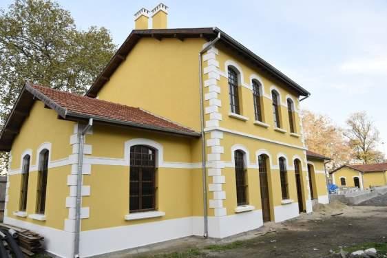Samsun Haberleri: Tarihi Gar Binalarının Restorasyonu Tamamlandı