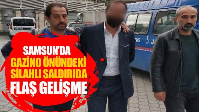 Samsun Haberleri: Gazino Önündeki Silahlı Yaralamaya Gözaltı