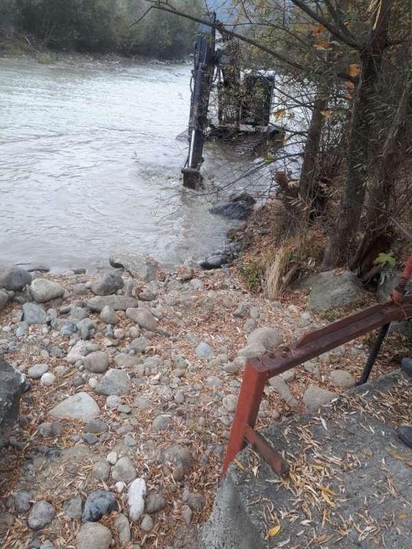 Depo inşaatının kapattığı menfez açılarak havzaya su verilmeye başlandı
