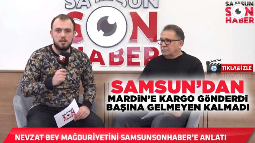 Samsun'dan Mardin'e kargo gönderdi! Başına gelmeyen kalmadı