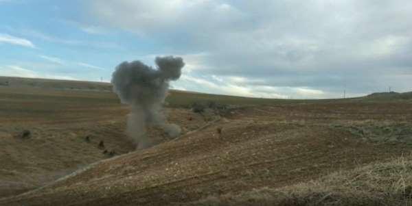 Siirt'te patlamamış top mühimmatı bulundu