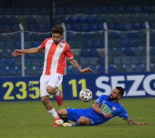 TFF 1. Lig: Adanaspor: 1 - Bandırmaspor: 2