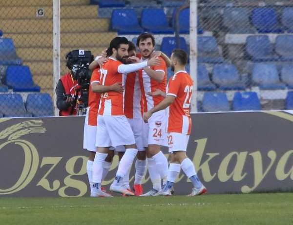TFF 1. Lig: Adanaspor:1 - Bandırmaspor: 1 (İlk yarı sonucu)