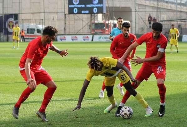 TFF 1. Lig: Menemenspor: 0 - Ankara Keçiörengücü: 0