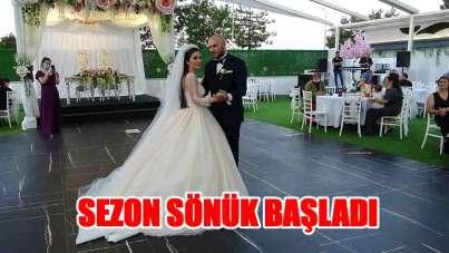 Samsun'da düğün sezonu beklentinin altında başladı