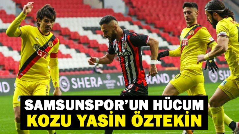 Samsunspor'un hücum kozu Yasin Öztekin