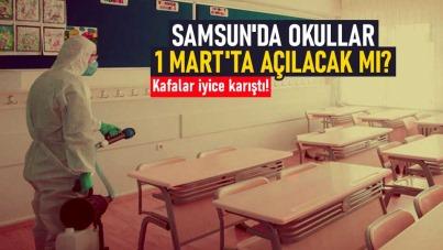 Samsun'da okullar 1 Mart'ta açılacak mı?