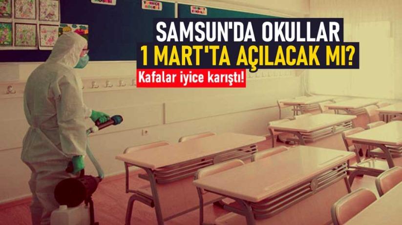 Samsun'da okullar 1 Mart'ta açılacak mı