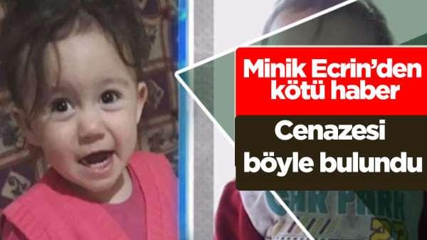 Samsun'da Ecrin Kurnaz'ın cenazesi bulundu