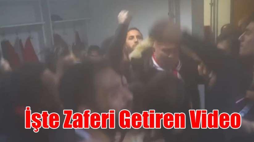 İşte Samsunspor'a Zaferi Getiren Video