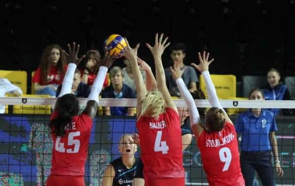 2019 Kadınlar Voleybol Avrupa Şampiyonası A Grubu: Finlandiya: 3 - Fransa: 1