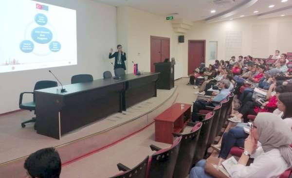 Jean Monnet bursu tanıtım toplantısı Gaziantep Üniversitesi'nde gerçekleştirildi