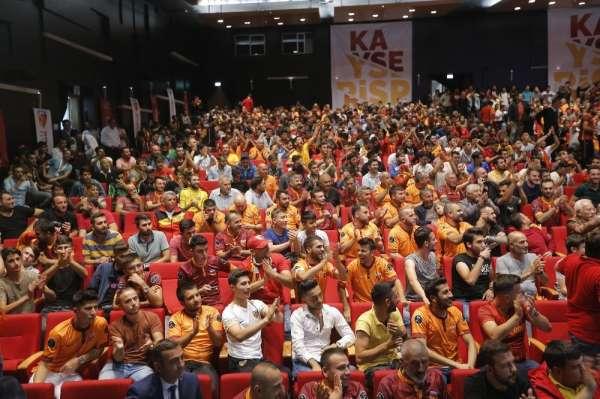 Kapalı Kale Taraftarlar Derneği'nden Kayserispor'a destek