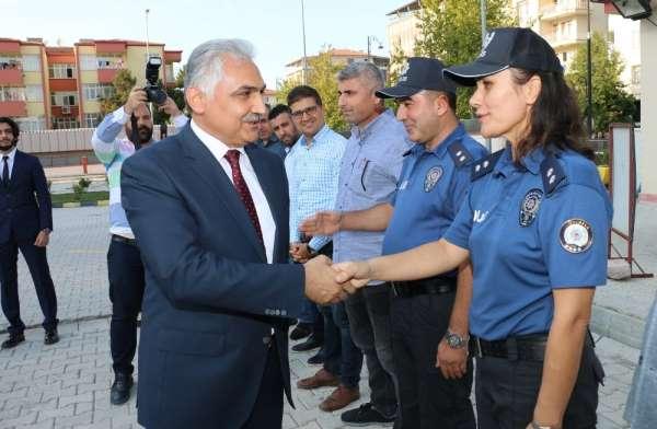 Samsun'a atanan Emniyet Müdürü Urhal, Malatya'dan ayrıldı