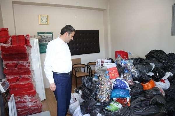 Tokat'ta okullar arasında atık pil toplama yarışması